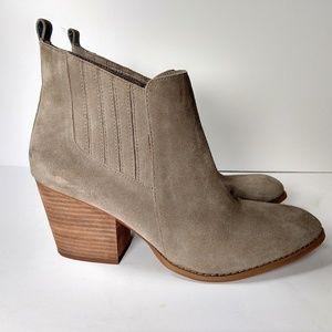 Crown Vintage tan suede ankle booties 11